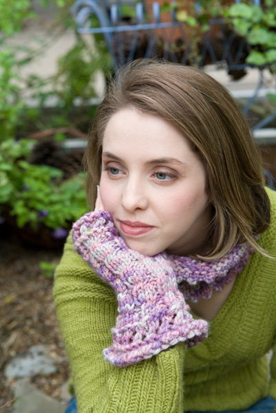 Twinkle Set shown in Brisa - Malabrigo Merino Chunky